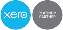 Logo for Xero Platinum Partner